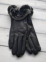 Женские перчатки Felix с мехом Большие 10-356, фото 1