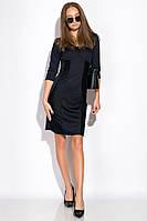 Платье 120PDNK1533 (Темно-синий), фото 1