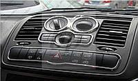 Хромированные накладки в салон на торпеду Mercedes-benz vito/ viano w639 (мерседес-бенц вито/ виано) 2004-2014