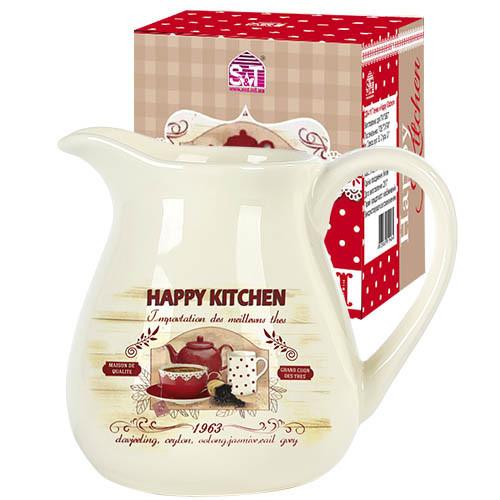 2234-11 Кувшин 1л Happy Kitchen