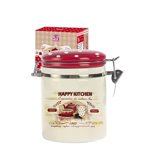 6629-11 Банка для специй 0,75 Happy Kitchen
