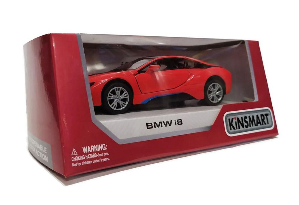Металлическая модель kinsmart BMW i8