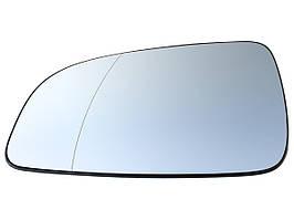 Вкладиш дзеркала з підігрівом L Opel Astra III H 04-