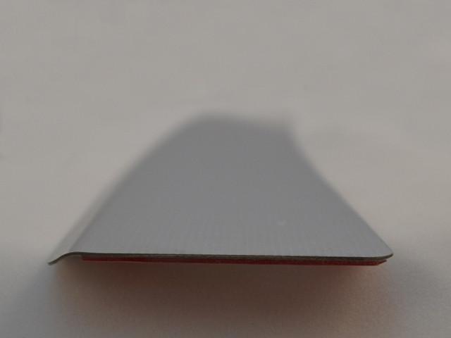 Накладка с загибом на задний бампер HYUNDAI SANTA FE III 2012 - 2016