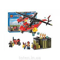 Конструктор BELA 10829 Пожарная команда быстрого реагирования City, 274 дет