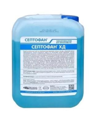 Дезинфицирующее средство, антисептик Септофан ХД 5 л от 4 штук