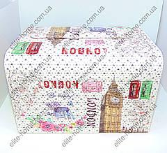 "Шкатулка - автомат (трансформер) для украшений ""Лондон2"" (26,5х18х17см), фото 3"
