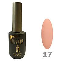 Гель-лак Milano Luxury 15ml. №017
