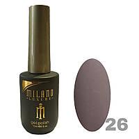 Гель-лак Milano Luxury 15ml. №026