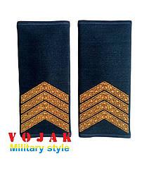 Погоны - муфты повседневные ВВС Старший сержант