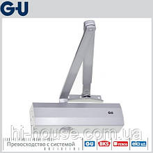 Доводчик GU OTS 210 (коленная тяга) серебро