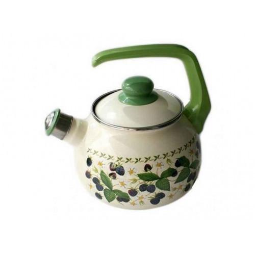 Чайник эмаль Ежевика 20см 2,5л 178904 2744