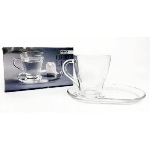 927-1063 Чашка с блюдцем 270мл Kaveh