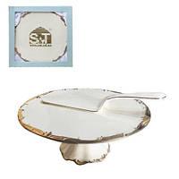 031-02-03 Набор для торта 2пр Монсоро S&T
