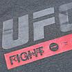 "Футболка спортивная антрацит UFC ""FIGHT"" Ф-10 ANTR L(Р) 20-914-020, фото 3"