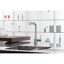 Смеситель для кухни с выдвижным изливом Grohe Essence 30270000, фото 2