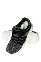 Кроссовки женские 120PKL001 (Черно-серый)