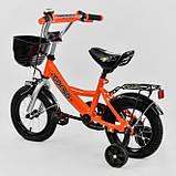 Велосипед детский двухколесный 12 оранжевый Corso G-12220, фото 2