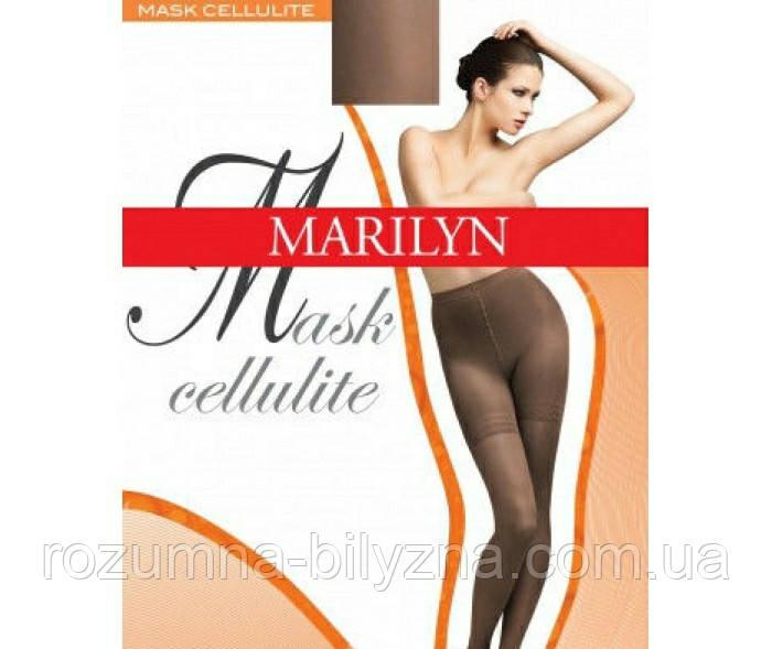 Колготи жіночі,mask cellulite,black,ТМ Marilyne,розмір:4