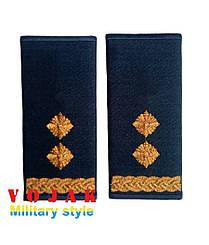 Погоны - муфты повседневные ВВС Подполковник