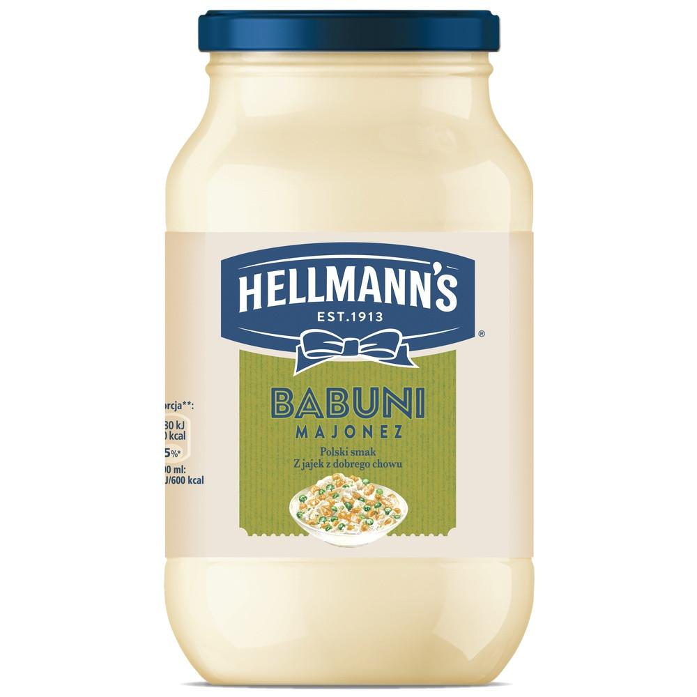 Майонез Hellmanns Babuni (650g)
