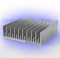 Алюминиевый профиль радиаторный для охлаждения светодиодов 120х36