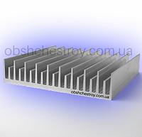 Алюминиевый профиль радиаторный 120х26