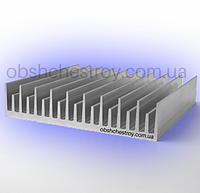 Радиаторный алюминиевый профиль 120х26