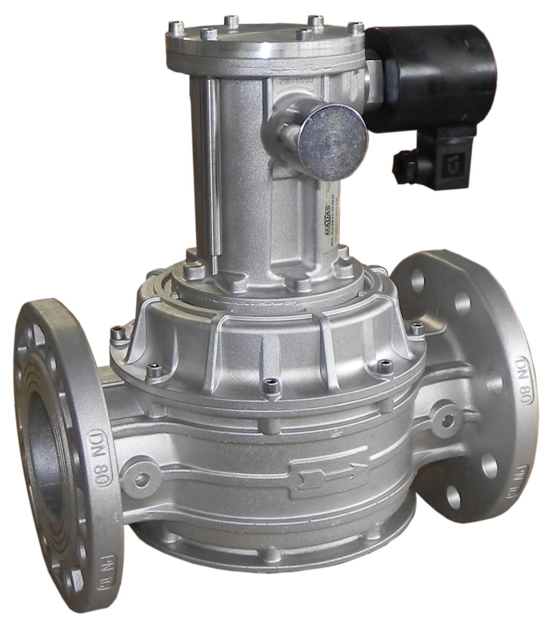 Электромагнитный клапан M16/RM N.C., DN80, 6 bar (MADAS)
