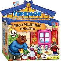 """Игра настольная """"Магнитный театр. Теремок"""" VT3206-08 Vladi Toys(рус.) ."""