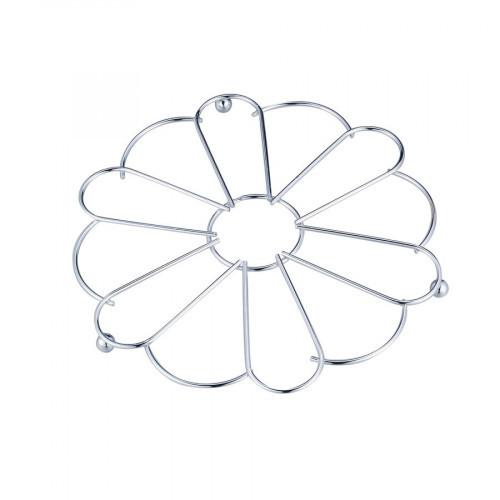 Подставка под горячее хром Цветок Тадар
