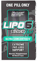 Lipo-6 Black Hers Ultra concentrate Nutrex (60 капс.)