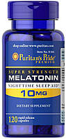 Melatonin 10 MG Puritan's Pride (120 капс.)