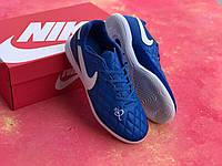 Футзалки Nike Tiempo Lunar Legend VII 10R IC / бампы найк темпо/футбольная обувь (39-40рр)