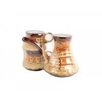 Турка з 2 чашками Укр Лепка Кава ЮВ-1240