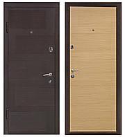 Дверь входная Министерство Дверей мдф/мдф  ПО-18 Венге\дуб беленый 2050х960мм левая