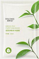 Освежающая маска с экстрактом зеленого чая, фото 1
