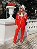 Женский спортивный костюм с мастеркой на молнии и с капюшоном 73rt888, фото 3