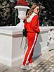 Женский спортивный костюм с мастеркой на молнии и с капюшоном 73rt888, фото 4