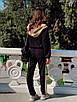 Женский спортивный костюм с мастеркой на молнии и с капюшоном 73rt888, фото 5