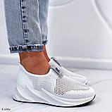 Стильные текстильные женские кроссовки, фото 3