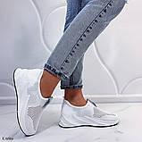 Стильные текстильные женские кроссовки, фото 4