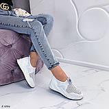 Стильные текстильные женские кроссовки, фото 5