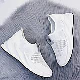 Стильные текстильные женские кроссовки, фото 8