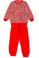 Пижама 120PKL009-1 junior (Красно-белый)