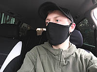 Маска ПИТТА защитная, многоразовая маска тканевая, двухслойная маска для лица - с регулируемой фиксацией