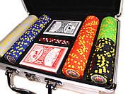 """Набор для покера """"Texas Holdem Poker"""" 200 фишек в чемодане, фото 2"""