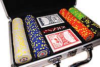 """Набор для покера """"Texas Holdem Poker"""" 200 фишек в чемодане, фото 3"""