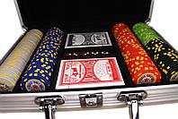 """Набор для покера """"Texas Holdem Poker"""" 200 фишек в чемодане, фото 5"""