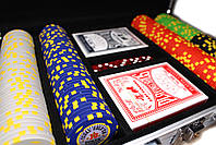 """Набор для покера """"Texas Holdem Poker"""" 200 фишек в чемодане, фото 6"""